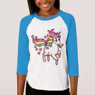 T-shirt Le Llamacorn majestueux