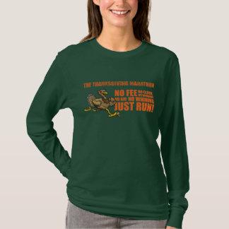 T-shirt Le marathon de thanksgiving