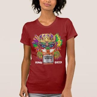 T-shirt Le mardi gras tout de la Reine de gombo dénomme