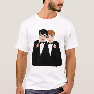 T-shirt Le mariage homosexuel toilette la chemise