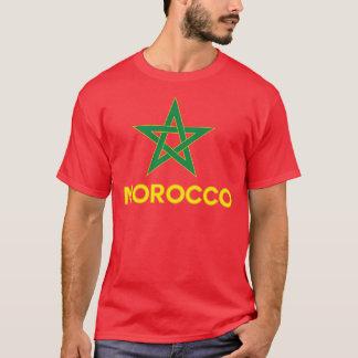 T-shirt Le Maroc - drapeau marocain