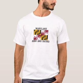 T-shirt Le Maryland né et augmenté