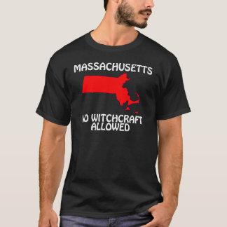 T-shirt Le Massachusetts - aucune sorcellerie permise