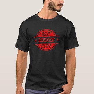 T-shirt Le meilleur associé toujours rouge