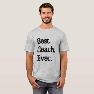 T-shirt Le meilleur entraîneur jamais