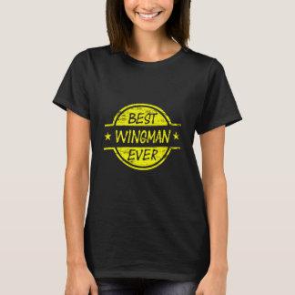 T-shirt Le meilleur jaune de Wingman jamais