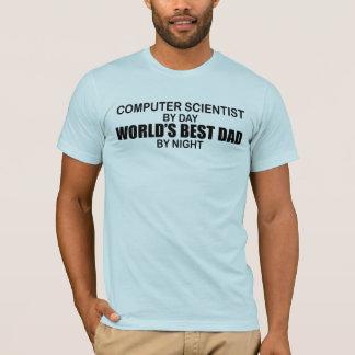 T-shirt Le meilleur papa du monde - informaticien