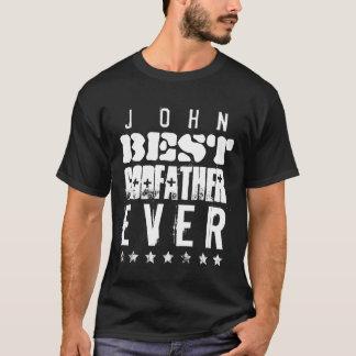 T-shirt Le meilleur PARRAIN jamais ou tout sentiment B05