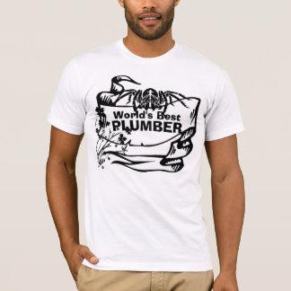 T-shirt Le meilleur plombier
