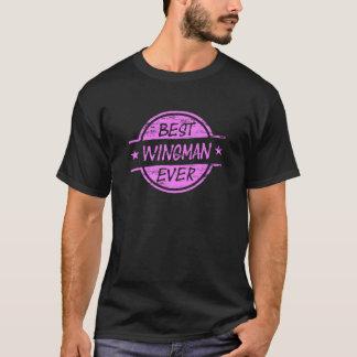T-shirt Le meilleur rose de Wingman jamais
