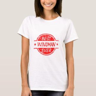 T-shirt Le meilleur Wingman toujours rouge