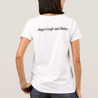 T-shirt Le métier d'ange et fait la chemise femelle