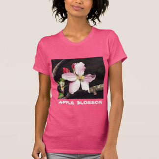 T-shirt Le Michigan Apple fleurissent