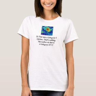 T-shirt Le mil est un cyclone du chat 10