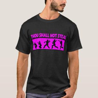 T-shirt Le mille ne volera pas, des roses indien