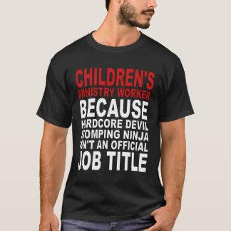 T-shirt Le ministère des enfants - frapper du pied