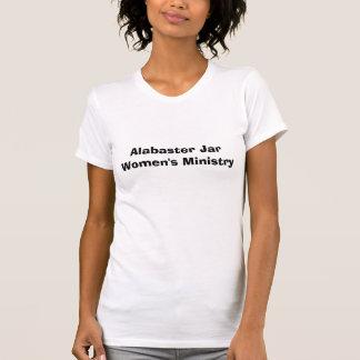 T-shirt Le ministère des femmes de pot d'albâtre