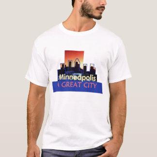 T-shirt Le Minnesota