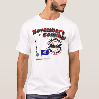 T-shirt Le Minnesota anti venir d'ObamaCare - de novembre