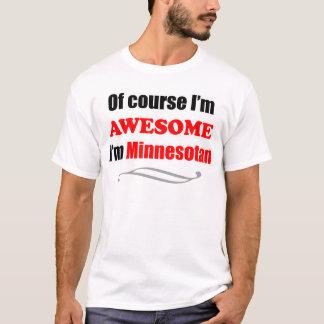 T-shirt Le Minnesota est impressionnant
