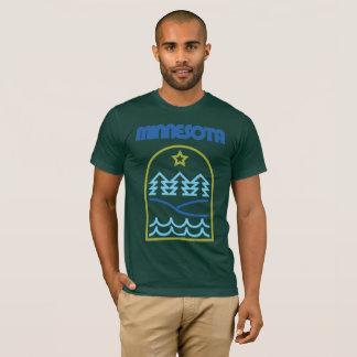 T-shirt Le Minnesota juste les lignes