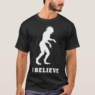 T-shirt Le monstre de Gogebic de lac - je crois