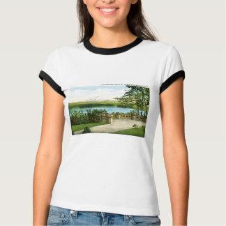 T-shirt Le mont Rainier et le Lac Washington