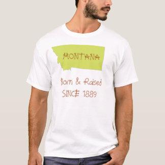 T-shirt Le Montana soutenu et augmenté