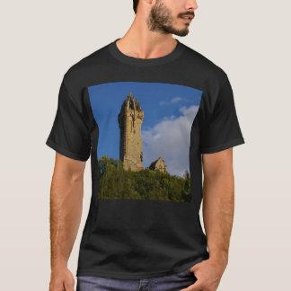 T-shirt Le monument Stirling Ecosse de Wallace