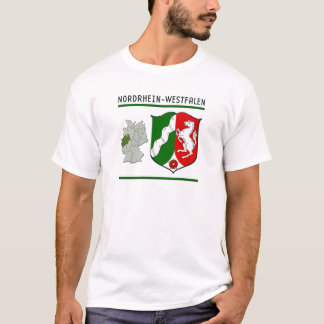 T-shirt Le Nordrhein-Westfalen