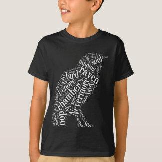 T-shirt Le nuage de mot de Raven