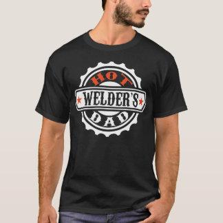 T-shirt Le papa de la soudeuse chaude