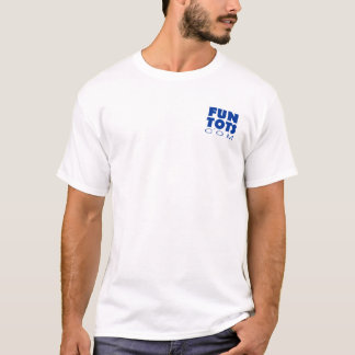T-shirt Le papa possède une tronçonneuse