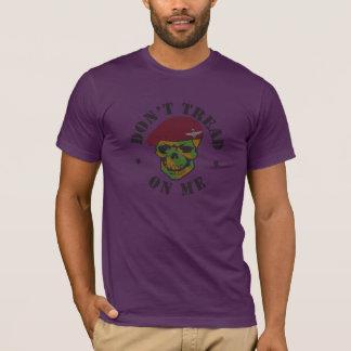 T-shirt Le parachute régiment Skull Don't Tread On me