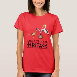 T-shirt Le patrimoine culturel de Shikaya