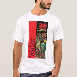 T-shirt Le Pays de Galles quatre druides