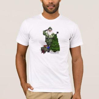 T-shirt Le père noël militaire