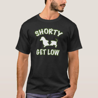 T-shirt Le petit obtiennent le bas teckel