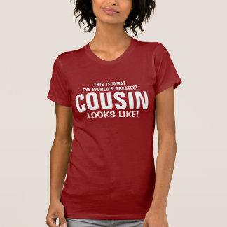 T-shirt Le plus grand cousin du monde