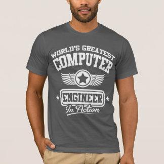 T-shirt Le plus grand ingénieur informaticien du monde
