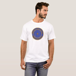 T-shirt Le point dans un cercle