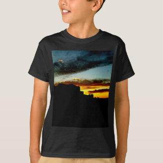 T-shirt Le point de vue de montagnes de sel de La de
