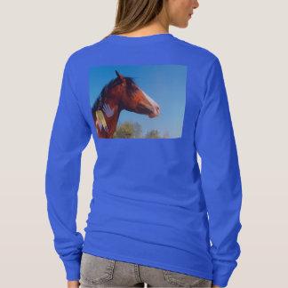 T-shirt Le poney de guerre fait varier le pas de la