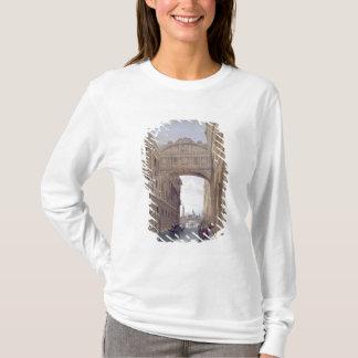 T-shirt Le pont des soupirs, Venise, gravée par Lefevre (