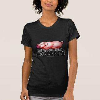 T-shirt Le porc est très bien