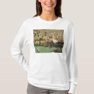 T-shirt Le port de Séville, c.1590