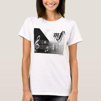 T-shirt Le portant fort avec MusicMinds Apperral