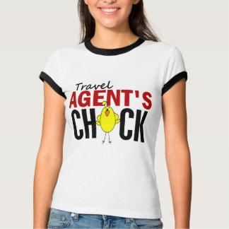 T-shirt Le poussin de l'agent de voyage
