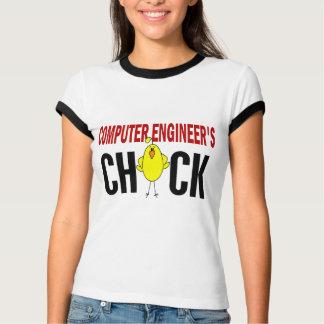 T-shirt Le poussin de l'ingénieur informaticien