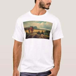 T-shirt Le premier train (0583B)
